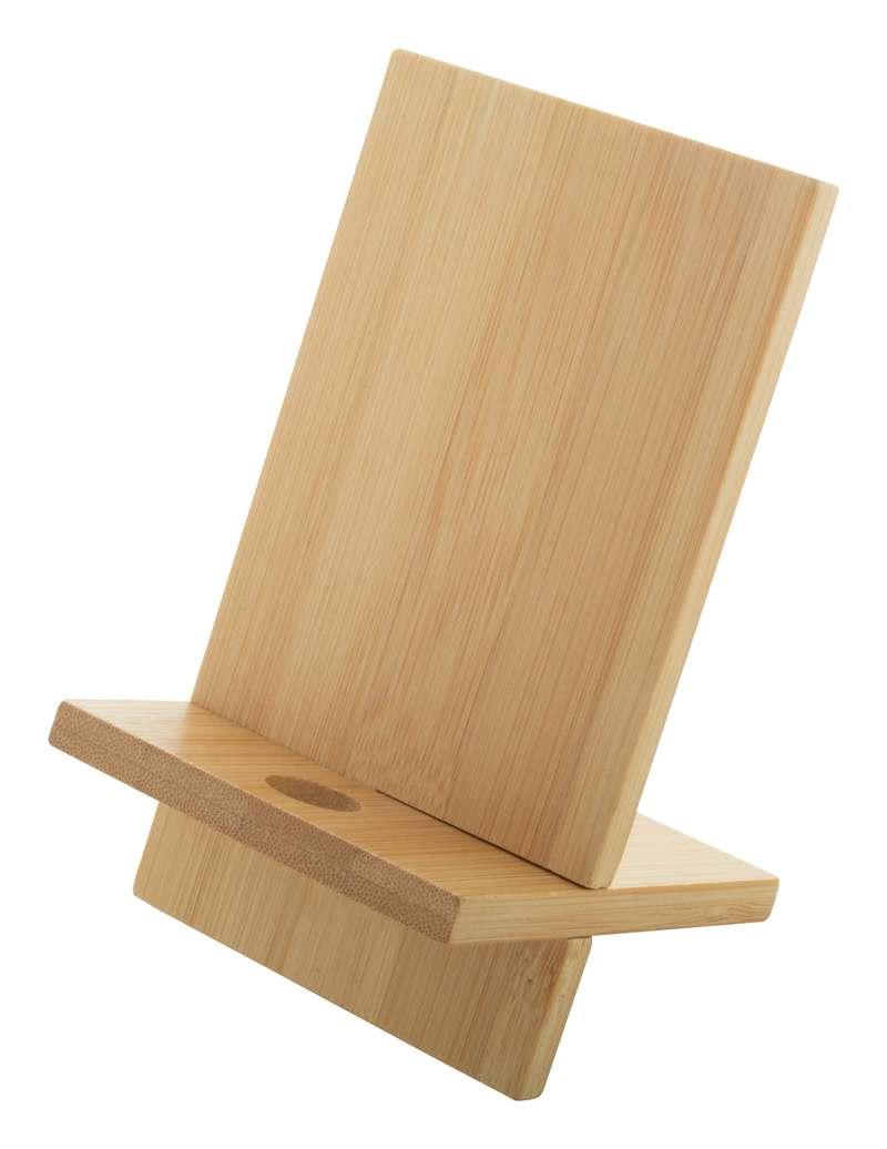 Bambusový stojánek na mobil Gibba