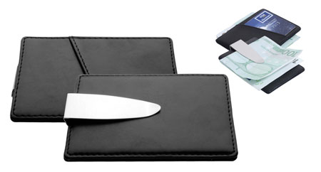Pouzdro na peníze a vizitky nebo karty