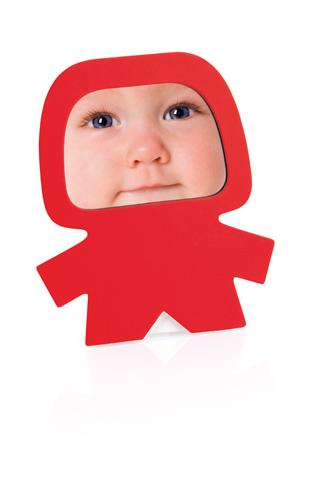 Torqiuis červený fotorámeček