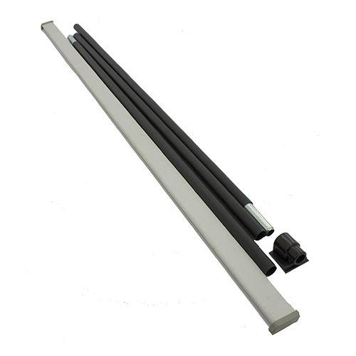Stojan Roll-up černý 85cm