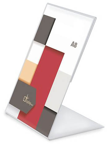 Stojánek PVC A8 jednostranný