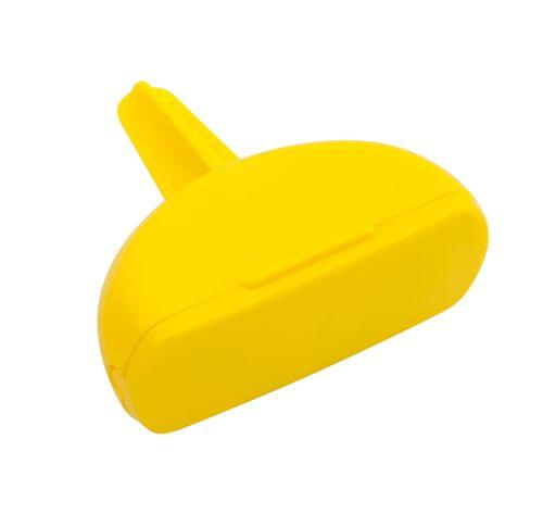 Surip žlutý popelník s potiskem