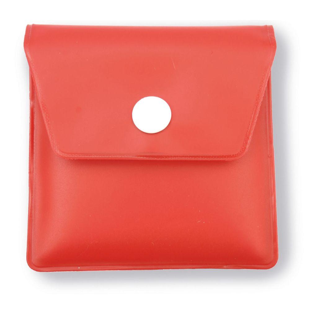 Popelník do kapsy červený