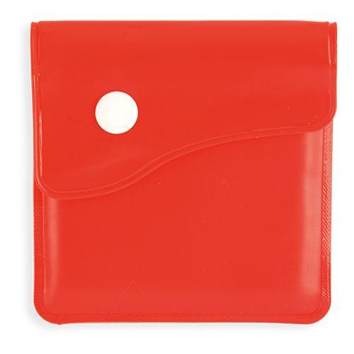 Kapesní popelník červený s potiskem