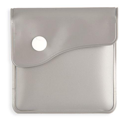 Kapesní popelník stříbrný