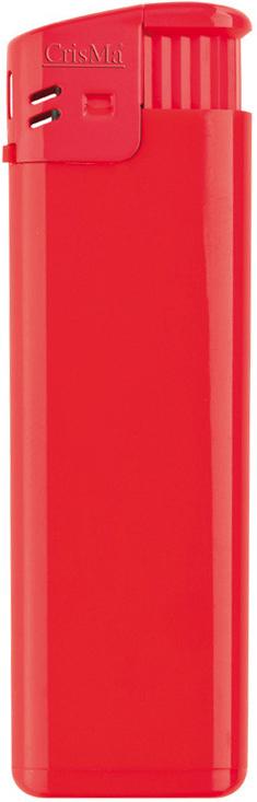 Červený plnitelný zapalovač