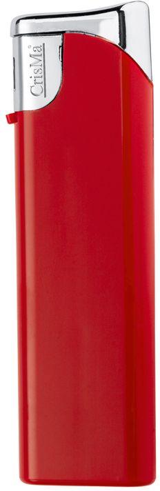 Plnitelný červený piezo zapalovač