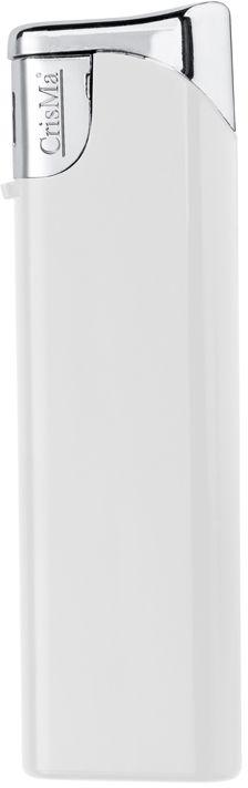 Plnitelný bílý piezo zapalovač