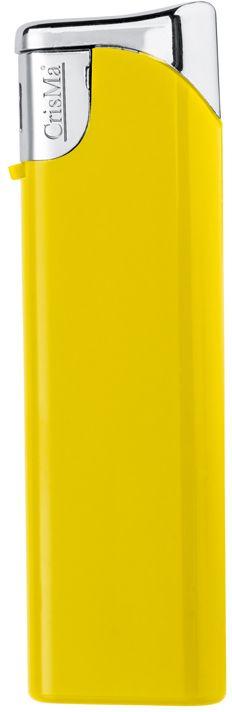Plnitelný žlutý piezo zapalovač