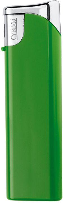Plnitelný zelený piezo zapalovač