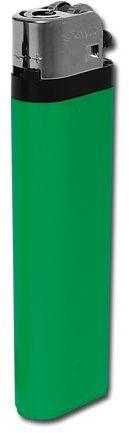 MAXI plastový jednorázový kamínkový zapalovač, zelená
