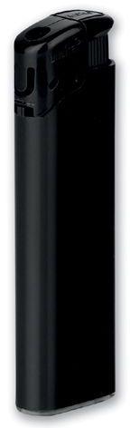 BLAZE plastový plnitelný piezo zapalovač, černá