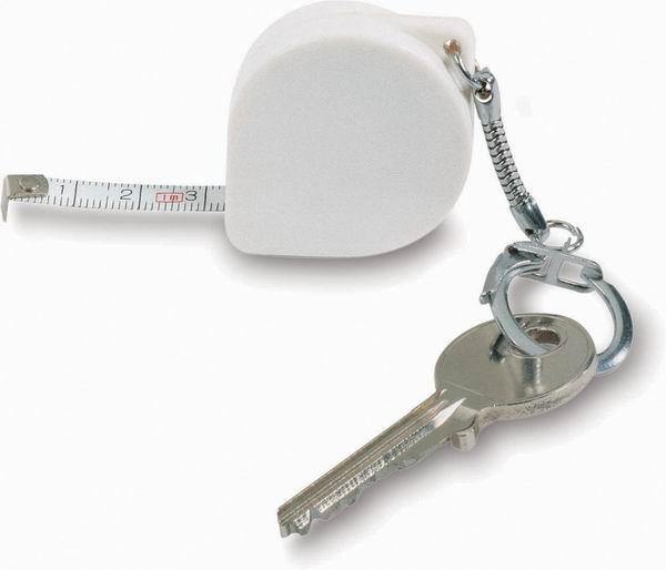 Přívěsek na klíče jako pásmo s potiskem