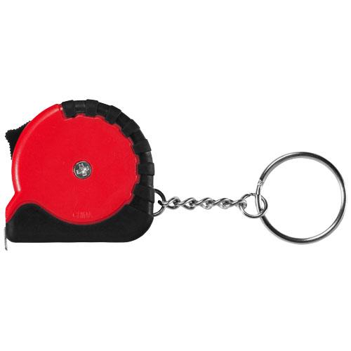 Červený přívěsek na klíče měřicí pásmo Rocco