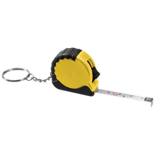 Žlutý přívěsek na klíče měřicí pásmo Rocco