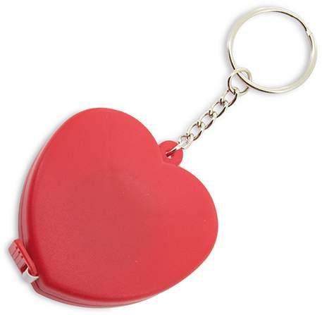 Klíčenka s metrem - srdce