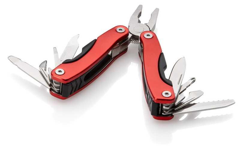 Červený minimulti nástroj