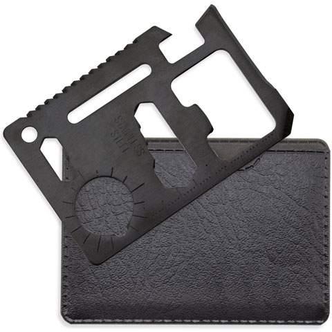 Multifunkční karta multi tool, černá