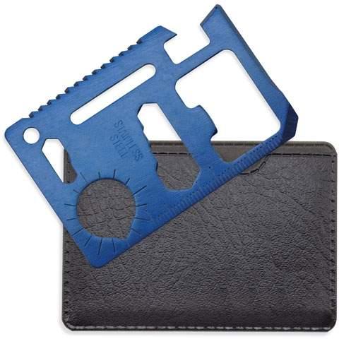 Multifunkční karta multi tool, modrá