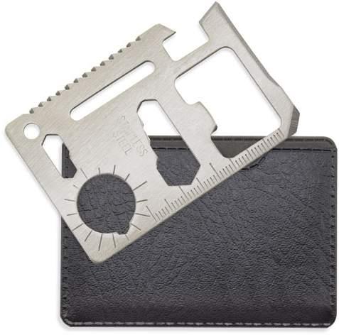 Multifunkční karta multi tool, stříbrná