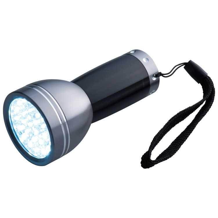 Kovová svítilna - černá
