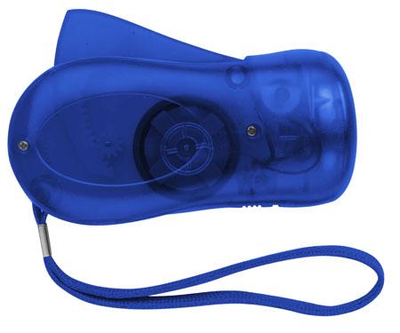 Dynamo svítilna modrá