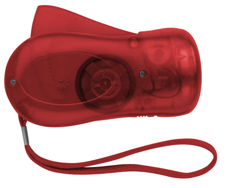 Dynamo svítilna červená