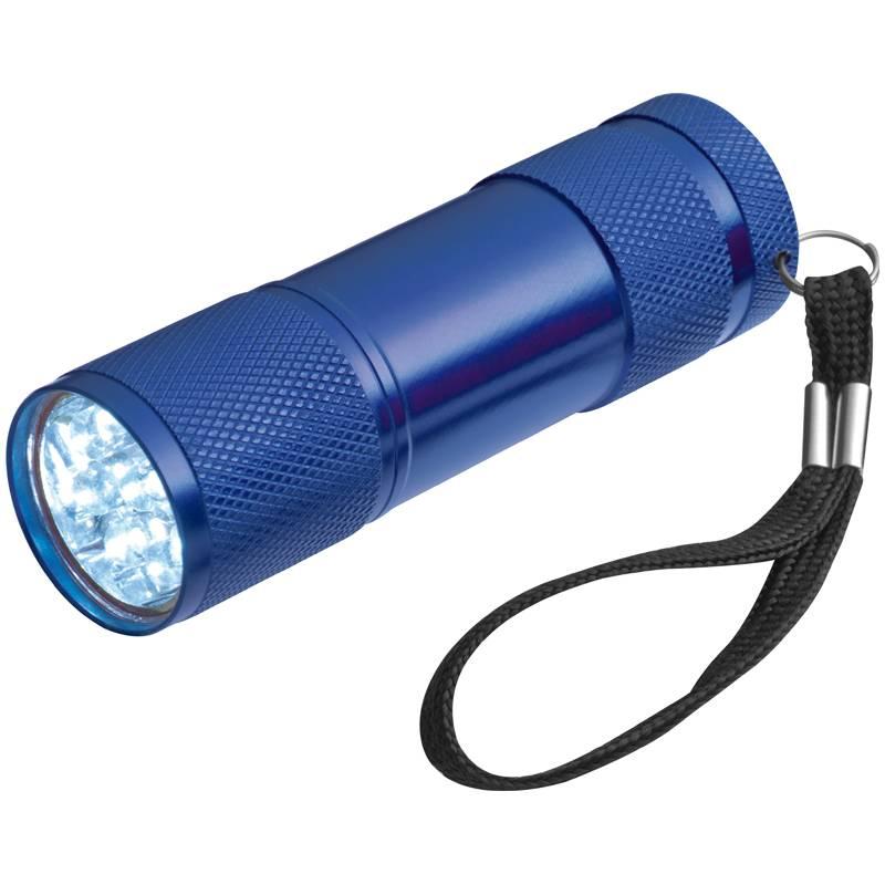 Modrá baterka se 3 bateriemi v balení