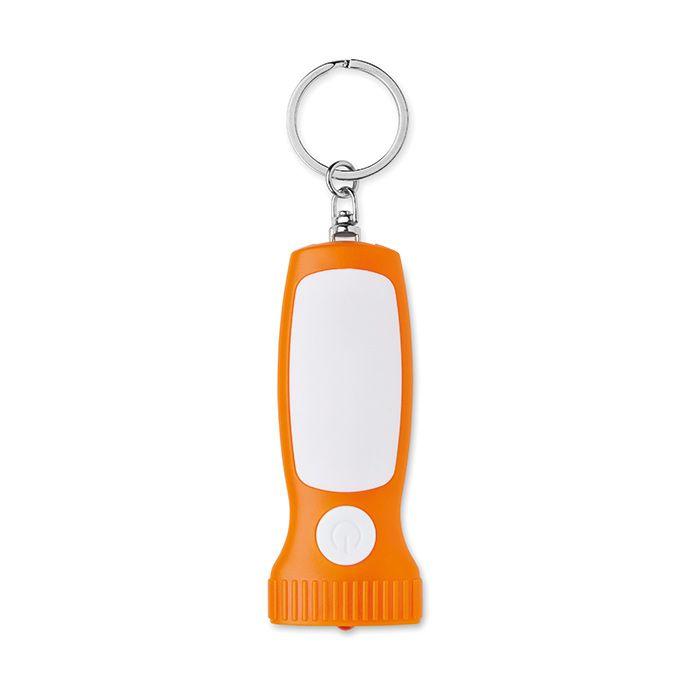 Přívěsek na klíče - oranžový