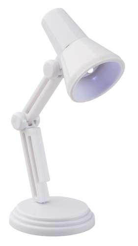 Pilxa bílá mini lampička na čtení