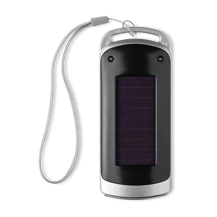 Černá 5 LED solární svítilna