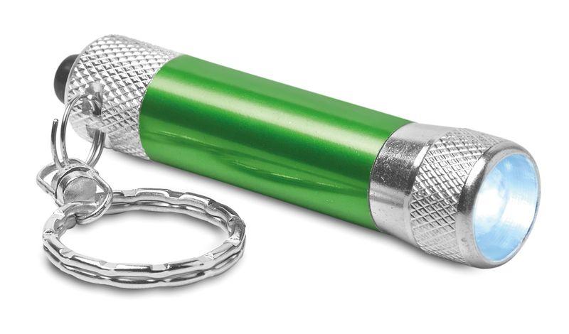 Hliníková zelená svítilna s přívěškem