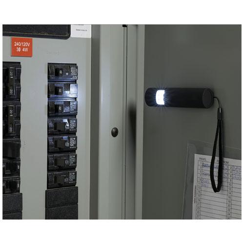 Miniaturní zářivá magnetická LED blikačka Grip Slim