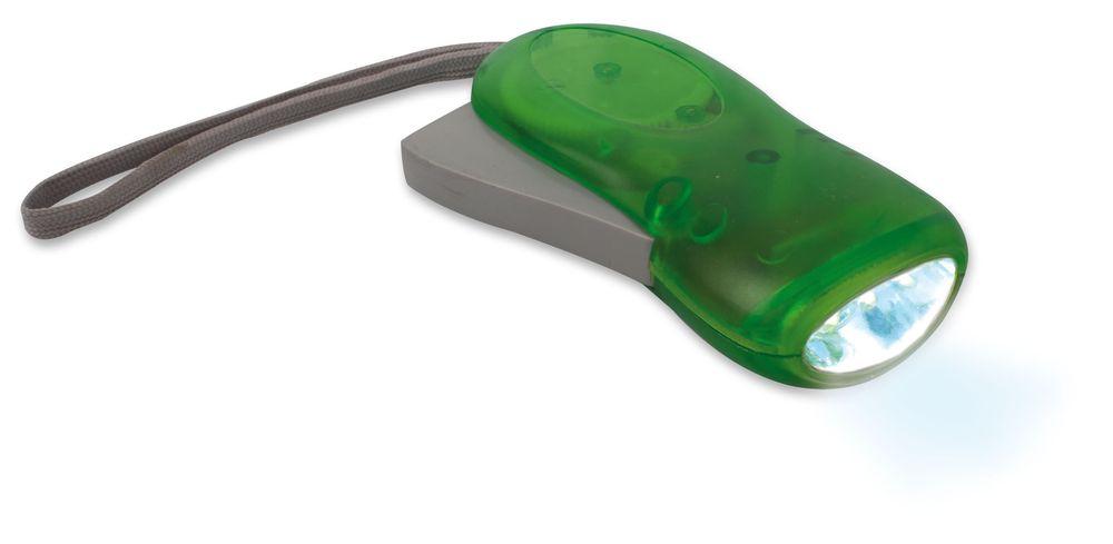 Dynamo baterka zelená