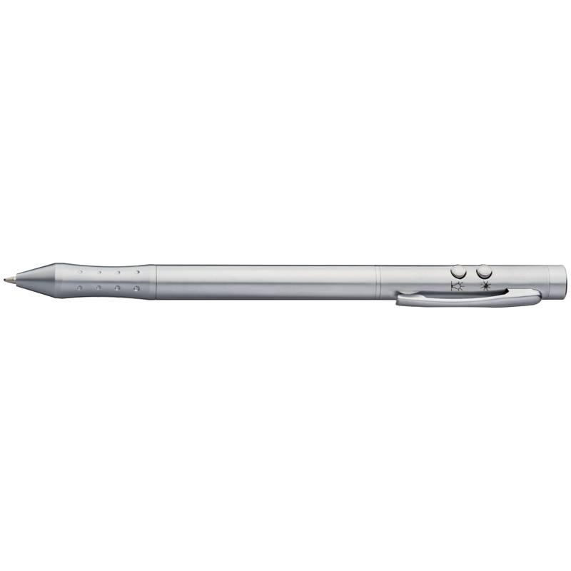 LED pero v kovové krabičce