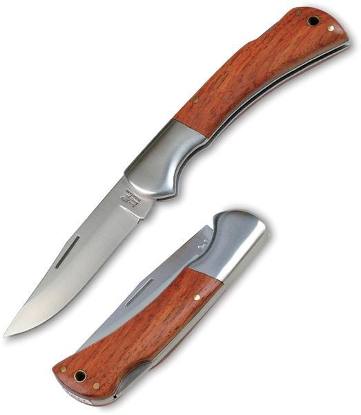 Lovecký nůž s pojistkou