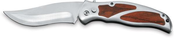 Vystřelovací nůž s klipem na opasek