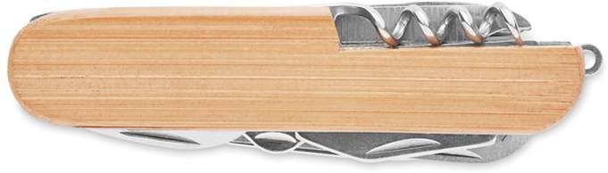 Lucy lux Multifunkční nůž, bambus