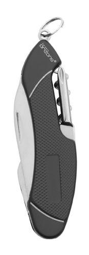 Virtux černý multifunkční kapesní nůž