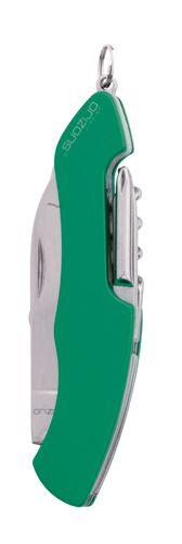 Saida zelený multifunkční kapesní nůž