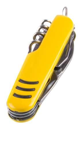 Shakon žlutý multifunkční kapesní nůž