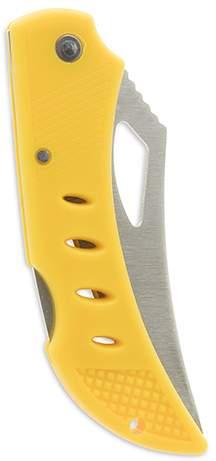 Zavírací nůž, žlutá střenka