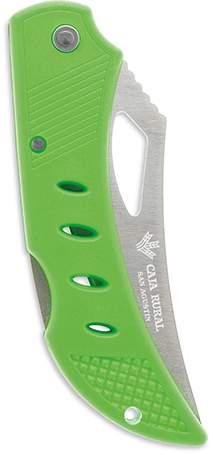 Zavírací nůž, zelená střenka