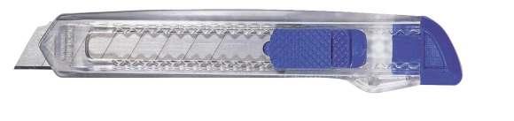 Modrý transparentní nůž