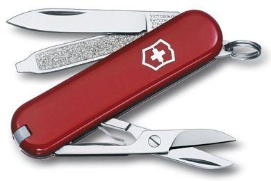 Kapesní červený nůž VICTORINOX CLASSIC SD