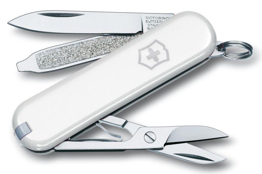 Kapesní bílý nůž VICTORINOX CLASSIC SD