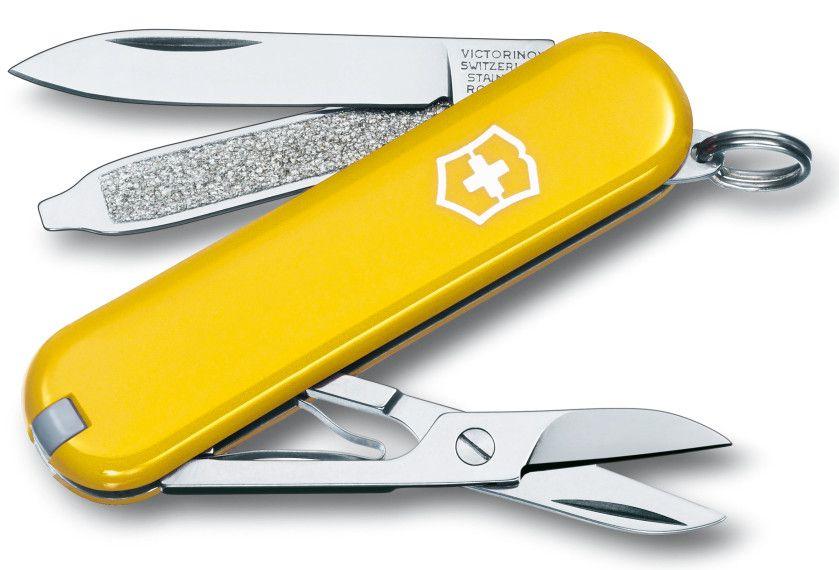 Kapesní žlutý nůž VICTORINOX CLASSIC SD