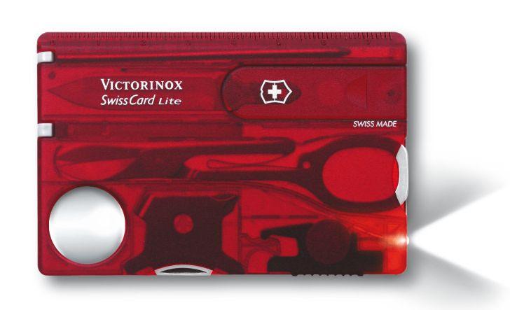 VICTORINOX SwissCard Lite - červená