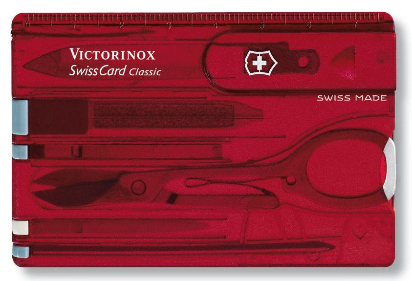 Nůž Victorinox SwissCard Ruby