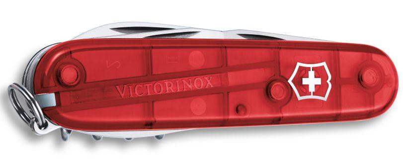 Nůž Victorinox Spartan červený transparentní